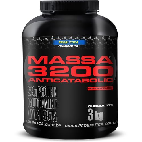 Massa 3200 Anti-Catabolic - 3Kg - Probiótica