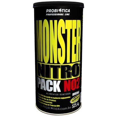 Monster Nitro Pack NO2 - 44 Packs - Probiótica