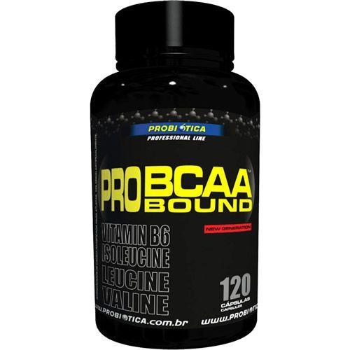 Pro BCAA Bound - 120 Cápsulas - Probiótica