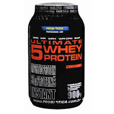 Ultimate 5 Whey Protein - 900g - Probi�tica