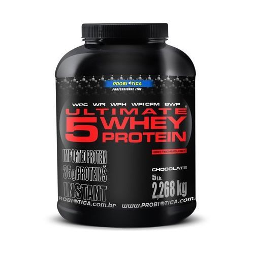 Ultimate 5 Whey Protein - 2,26Kg - Probiótica