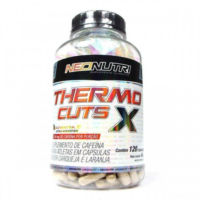 Thermo Cuts X - 120 Cápsulas - NeoNutri