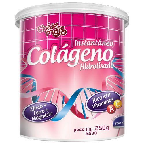Col�geno Hidrolisado Instant�neo - 250g - Ch� Mais
