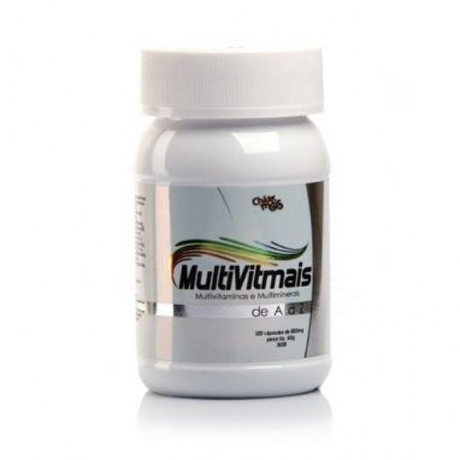 MultVitmais - 120 C�psulas - Ch� Mais