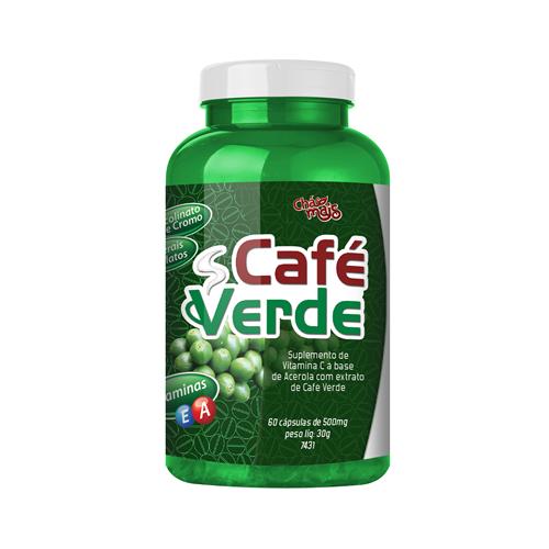 Café Verde - 60 Cápsulas - Chá Mais
