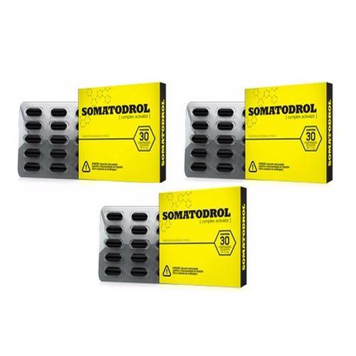Somatodrol - Promoção 3 Unidades