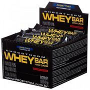 Whey Bar (Low Carb) - 24 unidades (1cx.) - Probi�tica