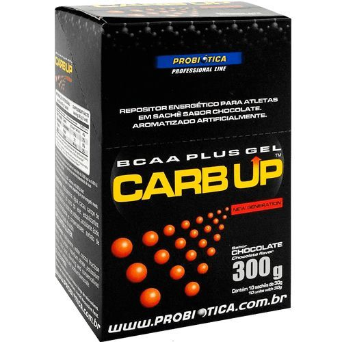 Carb Up Gel BCAA Plus - 10 Sach�s (1cx.) - Probi�tica