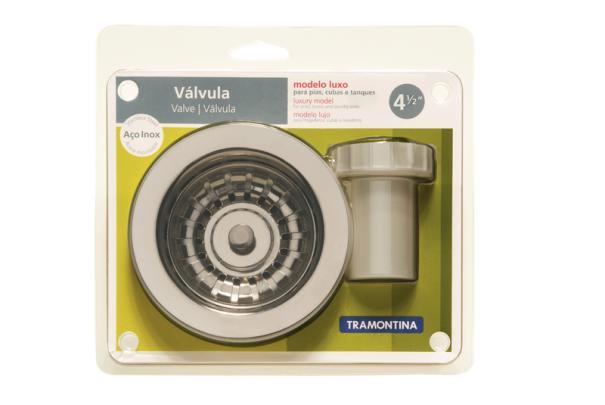 94510/002 Válvula Luxo De 4 1/2´´ - Tramontina  - COLAR