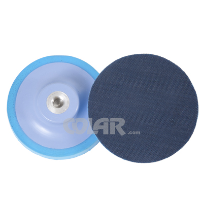 Suporte 5´´ Azul Com Espuma e Velcro M14  - COLAR