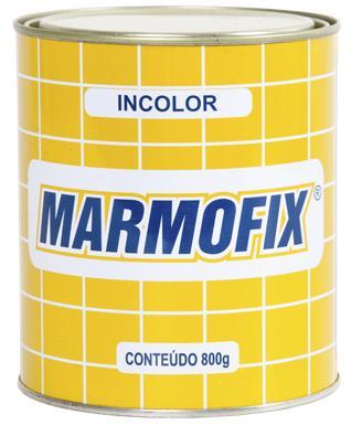 Resina Incolor Cola Líquida Para Estucagem 800gr - Marmofix  - COLAR