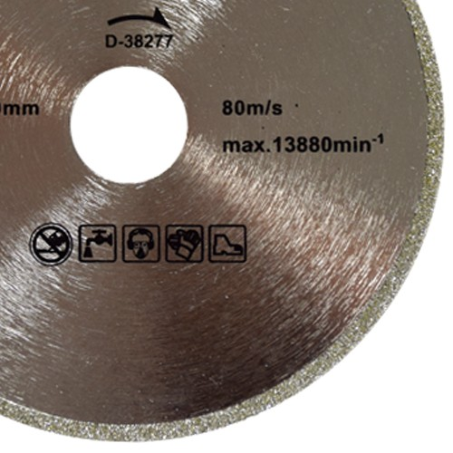 Disco Para Serra Mármore Corte Mármore Importado D-38277 Eletrolítico - Makita  - COLAR