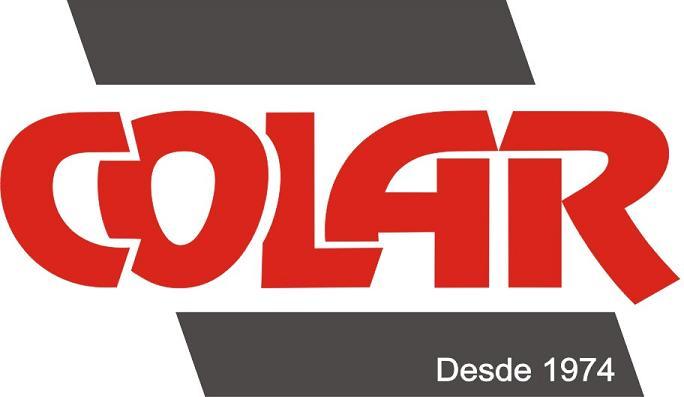 """Grampo Clip 04"""" a 10"""" - Colar  - COLAR"""
