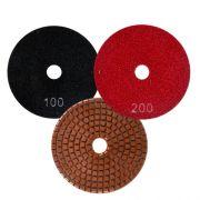 Disco de Desbaste Flexível Para Mármores e Granitos Cobre Superflex 100mm - Colar