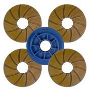 Disco Para Polimento de Borda Reta Poliborda Saint 125mm - Colar