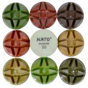 Disco de Polimento Rígido Para Concreto Nato 85mm - Colar