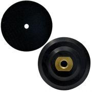 Suporte de Lixa com Velcro e Borracha 100mm - Colar