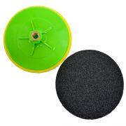 Suporte de Lixa com Velcro e Espuma 180mm - Colar