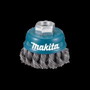 Escova de Aço Tipo Copo com Fio Trançado 2 M14 - Makita