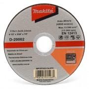 Disco de Corte Para Inox D-20002 - Makita