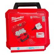 Kit de Serras Copo Para Furos de Uso Geral - 13 peças - Milwaukee - 49 22 4025