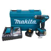 Parafusadeira / Furadeira de Impacto à Bateria DHP483RFE - Makita