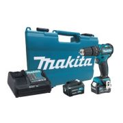 Parafusadeira / Furadeira de Impacto à Bateria HP332DSME - Makita