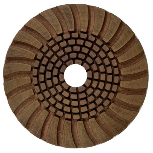 Disco de Desbaste Flexível Para Granitos e Silestone Cobre Resina 100mm - Colar  - COLAR