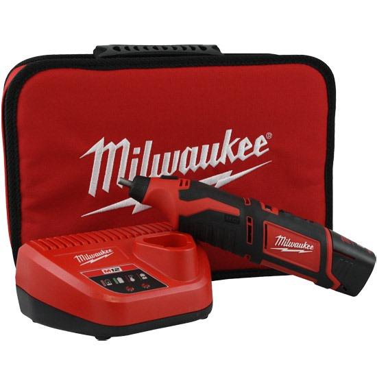 Micro Retífica a Bateria 12V De Íons De Lítio M12™ - 2460-159 - Milwaukee  - COLAR