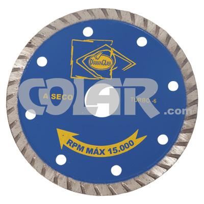 Disco Para Serra Mármore SG06 Turbo - DiamanGlass  - COLAR