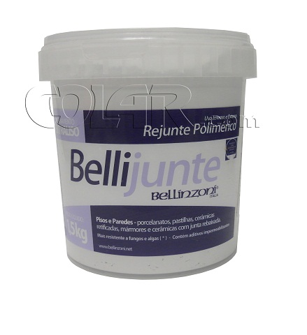 Rejunte Polimérico Bellijunte 1.5kg - Bellinzoni  - COLAR