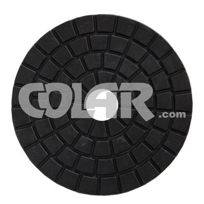 Disco De Polimento Buff Flexível para Mármores e Granitos 100mm - Colar  - COLAR