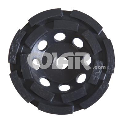 Rebolo Diamantado Gr 036 CR Preto Para Concreto  - COLAR