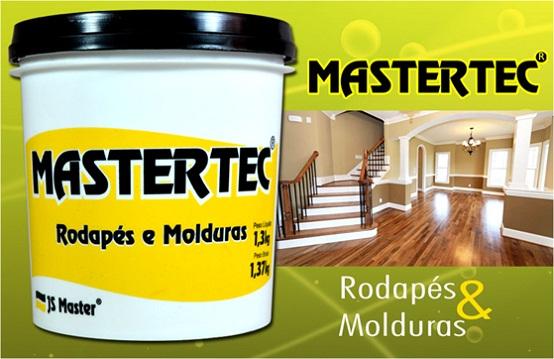 Cola Rejunte Rodapés e Molduras 1,3Kg - Mastertec  - COLAR