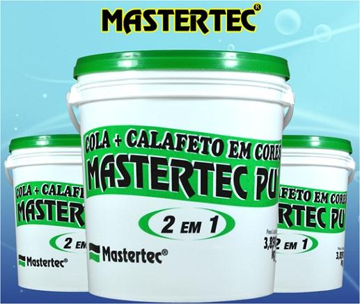 Cola Calafeto PU Mastertec 09 - Ipê  - COLAR