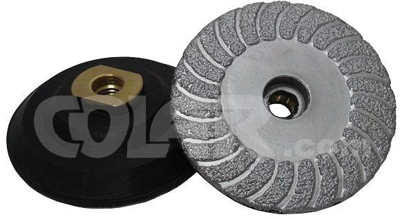 Super Turbo Com Borracha 100mm M14 Espiral 3´´ - DM  - COLAR