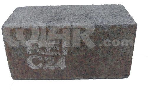 Tijolinho Retangular Resinado Para Desbaste e Polimento 4x2x2 - Rei  - COLAR