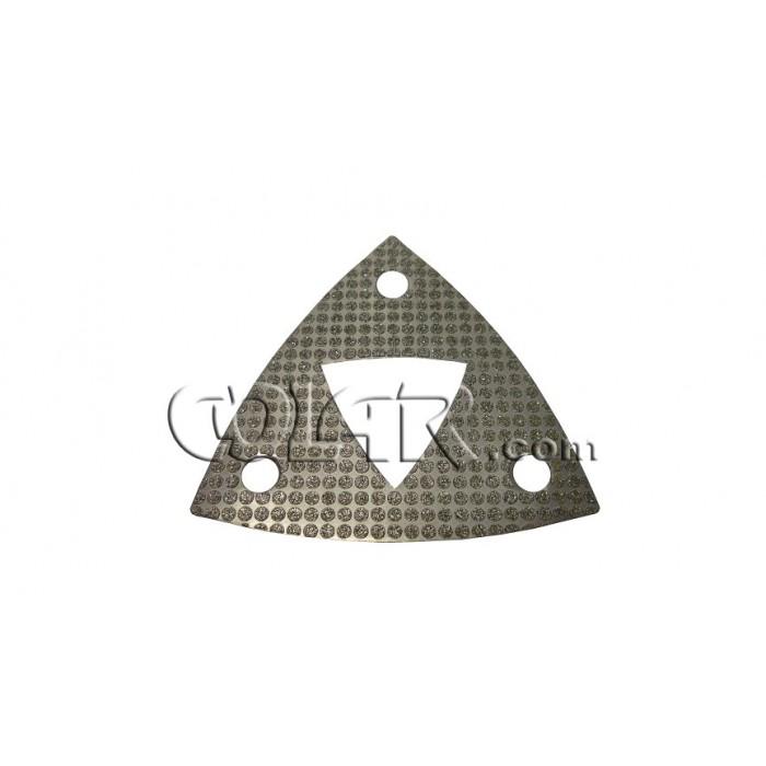 Lixa Triangular Eletrolítica  - COLAR