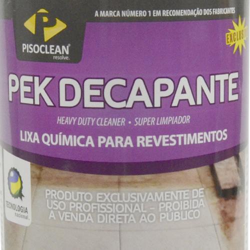 Pek Decapante 1Litro - Limpador e Removedor de Manchas de Barro  - COLAR