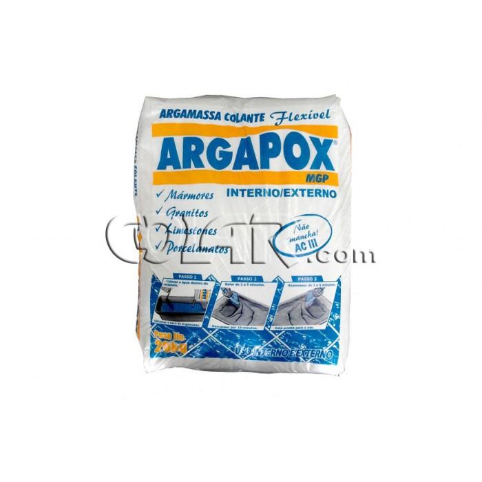 Argapox MGP Interna/Externa Branca 20kg - Dupox Akemi  - COLAR
