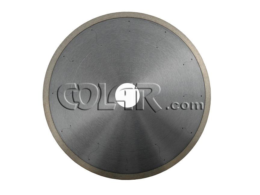 Serra Semi-Silenciosa 350 x 12 Continua Para Mármores / Nanoglass  - COLAR