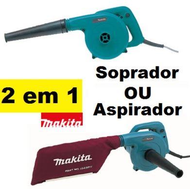 Aspirador e Soprador Com Velocidade Variável UB1101 220V - Makita  - COLAR