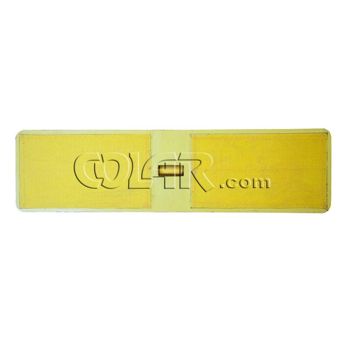 Suporte LT Plastico 45cm Velcro - Amarelo  - COLAR
