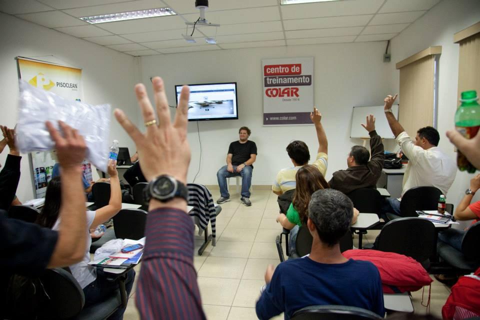 Curso Universidade do Piso - Pisoclean / Colar  - COLAR