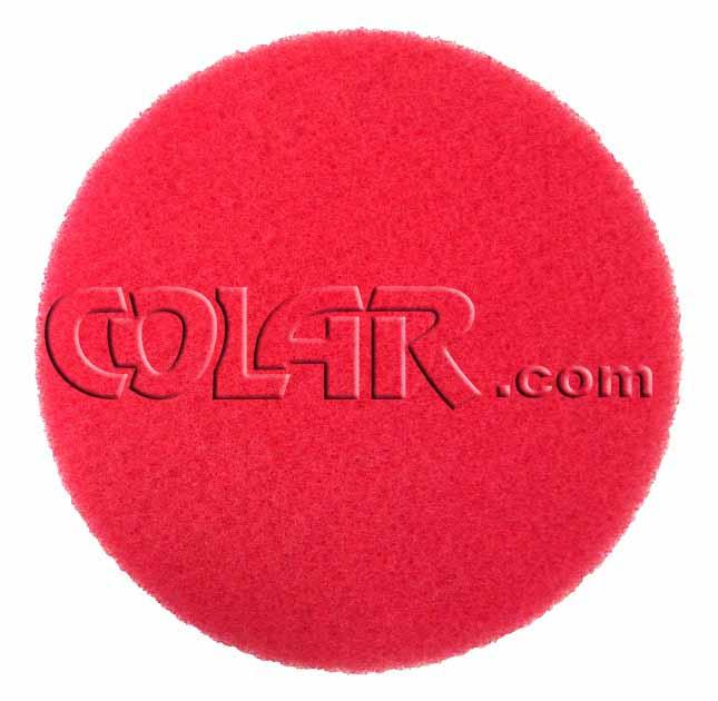 Disco de Polimento Vermelho  - COLAR