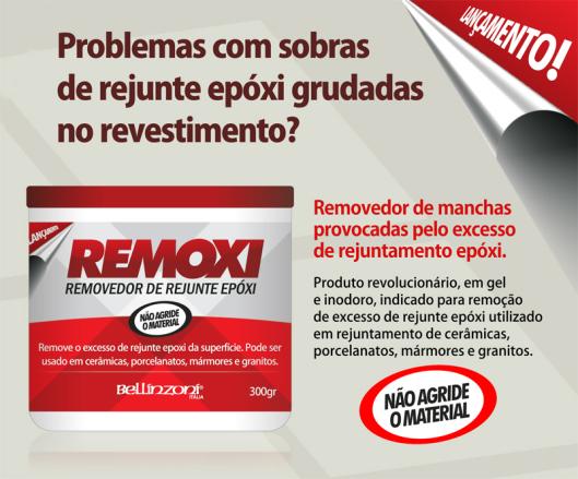 Remoxi Removedor de Rejunte Epoxi 300gr - Bellinzoni  - COLAR