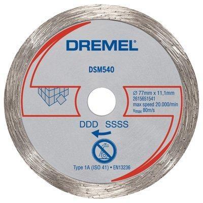 Disco de Corte Para Azulejo DSM540 - Dremel  - COLAR