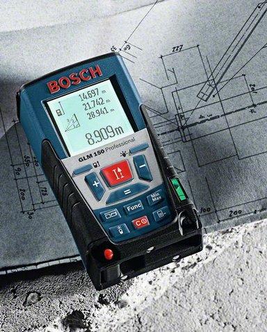 Medidor De Distância a Laser GLM 150 - Bosch  - COLAR