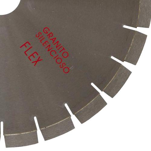 Serra Diamantada Silenciosa Premium para Granitos 350mm - Colar  - COLAR