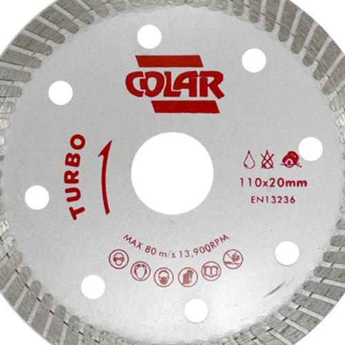 Disco de Serra Mármore Turbo Premium 110mm- Colar  - COLAR
